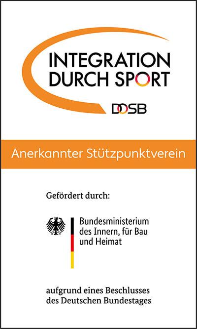Integration durch Sport - Anerkannter Stützpunktverein